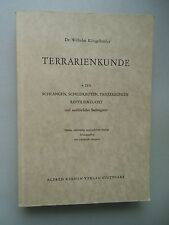 Terrarienkunde 4. Teil Schlangen Schildkröten Panzerechsen Reptilienzucht 1959