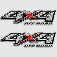 Liquid Metal 4x4 Truck Decal Set for Silverado Sierra Dakota Ram Tacoma Trucks
