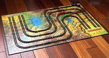 1963 RAILROADER Vintage Board Game Steam Train Railway Rail Race Wild West Map