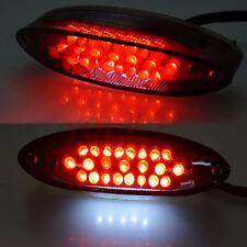 Motorcycle Integrated 28 LEDs License Brake Tail Light for Bobber Cafe Racer ATV