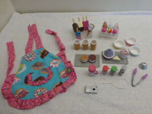 """Our Generation Sweet Stop Ice Cream Truck Accessories 18"""" Doll American Girl"""