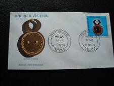 COTE D IVOIRE - enveloppe 1er jour 14/2/1976 (cy81)