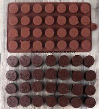 Smiley Emoji Emoticon Silicon Soap Chocolate Fondant Clay Jelly Mold Molder
