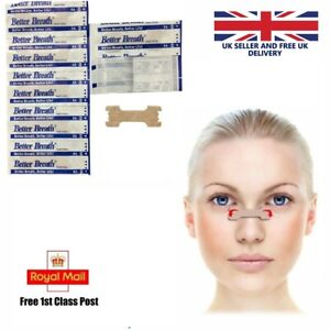 Better Breath Nasal Nose Strips Right Easy Stop Anti Snoring Sleeping - Large