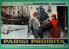 T48 FOTOBUSTA PARIGI PROHIBIDO MARCEL CARNE' DANY SAVAL PAUL MAURISSE DELAIR 5