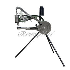 New Leather Cobbler Shoe Repair Machine Dual Cotton Nylon Line Sewing Machine UK