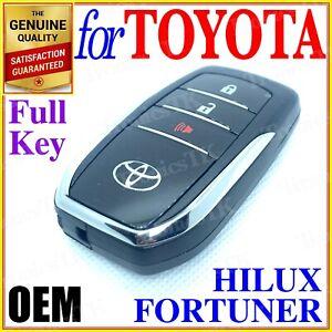 TOYOTA HILUX FORTUNER SMART KEY PROXIMITY KEY 3 BUTTON - GENUINE OEM