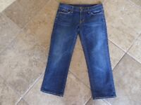 Citizens of Humanity, 'kelly #063 stretch low waist cropped', Wmn's Sz 28, USA