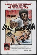 DEATH DIMENSION Movie POSTER 27x40 B Jim Kelly Harold Sakata George Lazenby