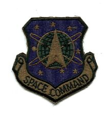 US Air Force Space Command Military Patch (OD)