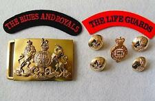 British Army Household Cavalry Parade Belt/Cap Badge/Buttons & Shoulder Titles