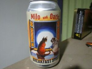 Seven Mile Brewing Co. Milo and Oatis empty beer can