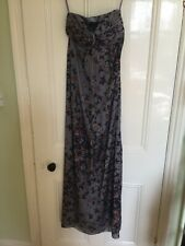 NEW WITH TAGS STUNNING TED BAKER SPECIAL OCCASION MAXI DRESS -SIZE 0 (UK 6) £229