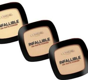 L'OREAL Paris Infallible Powder Foundation 9g - CHOOSE SHADE - NEW Sealed