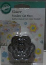 New Flower Fondant Cut-outs