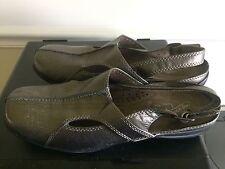 Women's Easy Street Comfort Wave Sling Back Shoe Size 9 Metallic Bronze EUC!