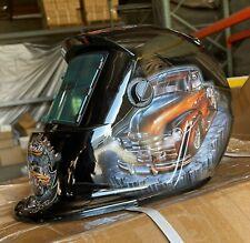 Rccd New Auto Darkening Weldinggrinding Helmet Hood