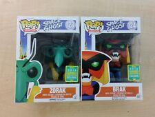 Ghost space Funko Pop Brak and Zorak figures Box