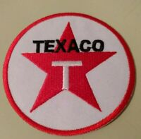 Texaco Gas and Oil Logo Embroidered 3 In Patch Collectible Advertising New