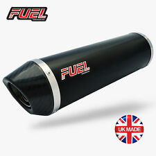 BMW F800R / Sport Diablo Black S/S Round Midi UK Road Legal Can - Fuel Exhausts