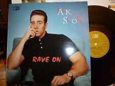 "JACK SCOTT ""Rave On: feat. Linda Scott - Unissued & Rare Tracks"" LP M/M"