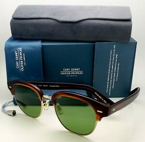 CARY GRANT 2 SUN OLIVER PEOPLES Polarized Sunglasses 5436S 1679P1 Tortoise Frame