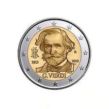 2 EURO ITALIA 2013 COMMEMORATIVO GIUSEPPE VERDI ANNIVERSARIO NASCITA ITALIE
