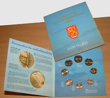 Finland 2000 - Official (BU) Euro Coin Set - Medal Art