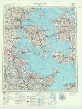 Russian Soviet Military Traffic Maps - KIEL (Germany), 1:500 000, ed. 1978