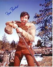 Fess Parker Davy Crockett & Daniel Boone Autographed 8x10 Photo Autograph Signed