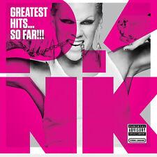 Pink - Greatest Hits... So Far!!! - UK CD album 2010 P!nk