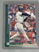 Ken Griffey Jr 1996 Leaf Preferred Baseball #1 Seattle Mariners