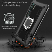For Xiaomi Mi Note 10 Lite / 10 Pro Magnetic Ring Holder Shockproof Armor Case
