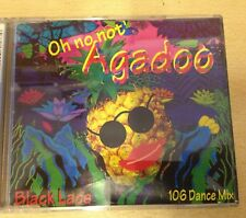 Black Lace – 106 dance mix - NEW OLD STOCK CD ALBUM    OH NO NOT Agadoo