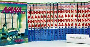 NANA  Japanese language Vol.1-21 set Manga Comics Ai Yazawa Japanese ver