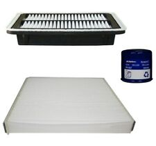 Engine Oil Air Paper Cabin Filter Kit ACDelco Pro For Subaru Outback H4 2.5L
