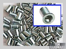 Threaded Rivet Nut Inserts M4. M5. M6. M8. 100 Mixed Pk... Riv, Pop, Nutsert