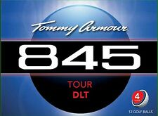 TOMMY ARMOUR 845 TOUR DLT GOLF BALL (12 PACK, 4 LAYER, WHITE)
