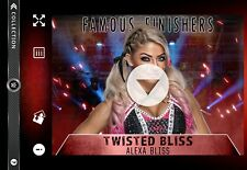 DIGITAL Topps Slam Alexa Bliss Video Card Famous Finishers Twisted Bliss