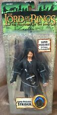 New Lotr Fellowship Super Poseable Strider Figurine w/30 Points of Articulation