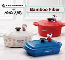 Le Creuset La Petite Collection Dining Ware Hello Kitty Pot shaped containers