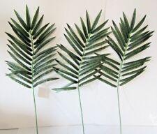Confezione di 3 Artificiali Grandi Palm Leaf 70-realistico FAKE FOGLIE