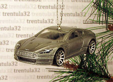 007 Casino Royale '10 ASTON MARTIN DBS 2010 Grey CHRISTMAS TREE ORNAMENT XMAS