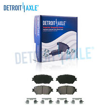 Front Ceramic Brake Pads w/Hardware for Lexus IS250 Toyota Camry