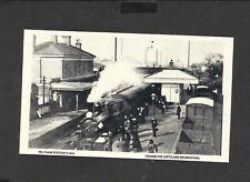 Repro card Feltham Station c1910 Hounslow (Arts and Recreation)