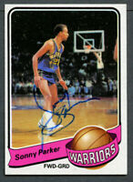 Sonny Parker #36 signed autograph auto 1979-80 Topps Basketball Trading Card