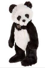 Charlie Bears Bär Panda Jago ca. 27cm groß