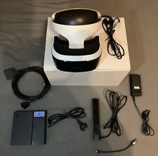 PS4 VR Headset/ Brille - With all Cables/ Alle Kabel - Incl. Camera - OVP Boxed