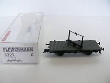 Fleischmann H0 - 5222 Drehschemelwagen der DR - Neu & OVP