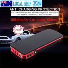88800mAh 12V Car Jump Starter Pack Booster 3USB Chargers Power Bank Battery AU